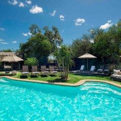 Отель Gorah Elephant Camp бассейн