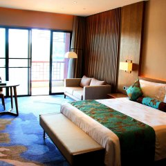 Отель Xiamen Aqua Resort 5* Номер Делюкс с двуспальной кроватью