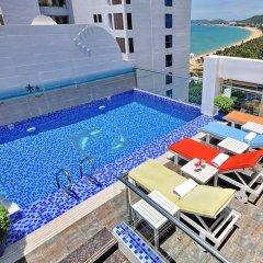 Boss Hotel Nha Trang Нячанг бассейн фото 3