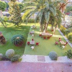 Отель Checkin Valencia Валенсия приотельная территория