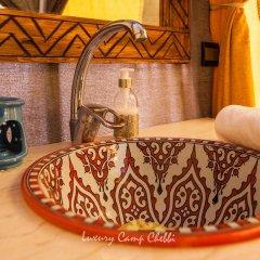 Отель Luxury Camp Chebbi Марокко, Мерзуга - отзывы, цены и фото номеров - забронировать отель Luxury Camp Chebbi онлайн удобства в номере фото 2