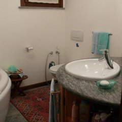 Отель Mon Reve Аоста ванная