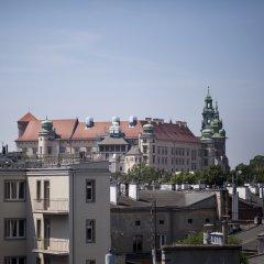Отель Daniel Griffin Aparthotel by Artery Hotels Польша, Краков - 2 отзыва об отеле, цены и фото номеров - забронировать отель Daniel Griffin Aparthotel by Artery Hotels онлайн балкон