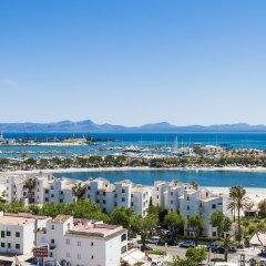 Отель Globales Condes de Alcudia пляж