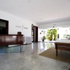 Hotel Capri интерьер отеля фото 2
