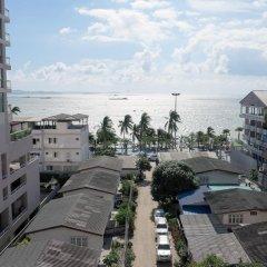 Отель Mike Beach Resort Pattaya пляж фото 2