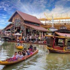 Отель Aya Boutique Hotel Pattaya Таиланд, Паттайя - 1 отзыв об отеле, цены и фото номеров - забронировать отель Aya Boutique Hotel Pattaya онлайн приотельная территория фото 2