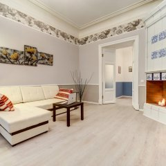 Апартаменты Zagorodnyij Prospekt 21-23 Apartments Санкт-Петербург комната для гостей фото 2