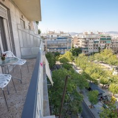 Апартаменты Victoria Grand Apartments балкон
