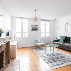Апартаменты Sorbonne - Luxembourg Gardens Apartment комната для гостей фото 5