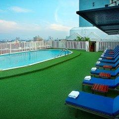 Отель Bangkok Cha-Da Hotel Таиланд, Бангкок - отзывы, цены и фото номеров - забронировать отель Bangkok Cha-Da Hotel онлайн бассейн фото 2