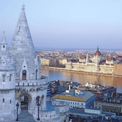 Отель Hilton Budapest балкон