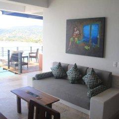 Отель Casa Sandbar Мексика, Сиуатанехо - отзывы, цены и фото номеров - забронировать отель Casa Sandbar онлайн комната для гостей фото 2