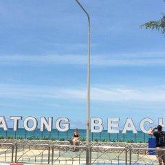 Отель Goldsea Beach пляж