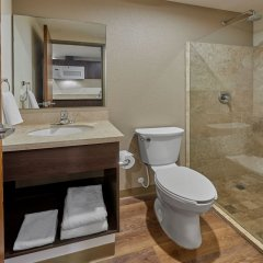 Hotel Extended Suites Coatzacoalcos Forum ванная