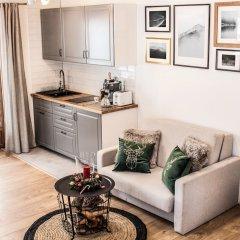 Апартаменты Luxury Apartment Gorsky Поронин комната для гостей фото 2