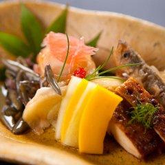 Отель Kusayane no Yado Ryunohige Япония, Хидзи - отзывы, цены и фото номеров - забронировать отель Kusayane no Yado Ryunohige онлайн питание фото 3