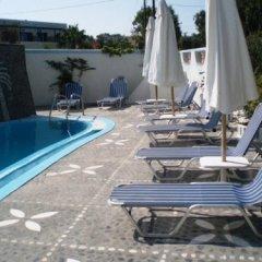 Отель Palladion Греция, Остров Санторини - отзывы, цены и фото номеров - забронировать отель Palladion онлайн бассейн фото 3