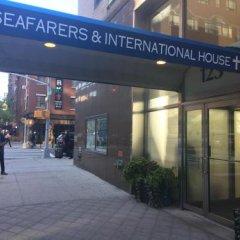 Отель Seafarers International House США, Нью-Йорк - отзывы, цены и фото номеров - забронировать отель Seafarers International House онлайн вид на фасад