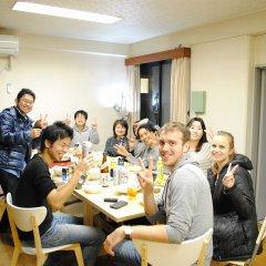 Отель Guest House Hokorobi Фукуока питание фото 3