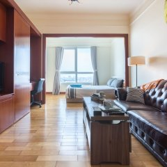 Отель The Manor Luxury 1BR Apartment Center Вьетнам, Хошимин - отзывы, цены и фото номеров - забронировать отель The Manor Luxury 1BR Apartment Center онлайн комната для гостей фото 5