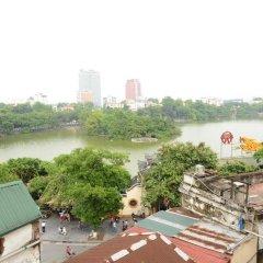 Отель Madam Moon Hotel Вьетнам, Ханой - отзывы, цены и фото номеров - забронировать отель Madam Moon Hotel онлайн приотельная территория фото 2