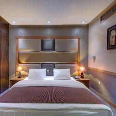 Отель Delmon Palace Дубай комната для гостей фото 3