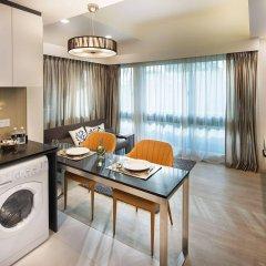 Апартаменты Orange Grove Service Apartment by ST Residences комната для гостей фото 5