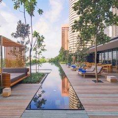 Отель Oakwood Premier OUE Singapore бассейн