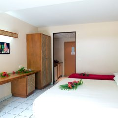 Отель Hibiscus Французская Полинезия, Муреа - отзывы, цены и фото номеров - забронировать отель Hibiscus онлайн комната для гостей фото 2