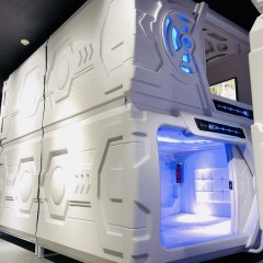 Отель MET A Space Pod @ Chinatown Сингапур банкомат