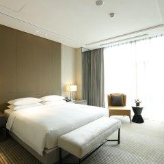 Отель Hyatt House Shanghai Hongqiao CBD Китай, Шанхай - отзывы, цены и фото номеров - забронировать отель Hyatt House Shanghai Hongqiao CBD онлайн комната для гостей фото 3