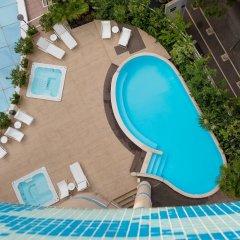 Отель Savoia Hotel Rimini Италия, Римини - 7 отзывов об отеле, цены и фото номеров - забронировать отель Savoia Hotel Rimini онлайн бассейн фото 2