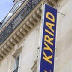 Kyriad Hotel XIII Italie Gobelins вид на фасад фото 2