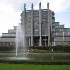 Отель Le Centenaire Brussels Expo Бельгия, Брюссель - отзывы, цены и фото номеров - забронировать отель Le Centenaire Brussels Expo онлайн приотельная территория фото 2