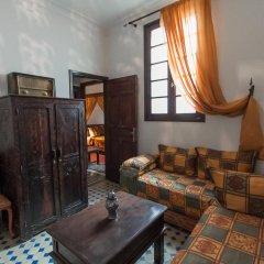 Отель Riad dar Chrifa Марокко, Фес - отзывы, цены и фото номеров - забронировать отель Riad dar Chrifa онлайн комната для гостей