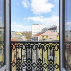 Отель Avenida da Liberdade Vintage by Homing балкон