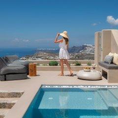 Отель Halcyon Days Suites Греция, Остров Санторини - отзывы, цены и фото номеров - забронировать отель Halcyon Days Suites онлайн бассейн фото 2
