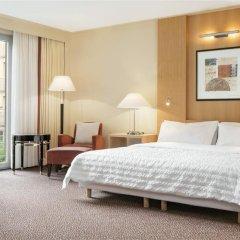 Отель Le Méridien Munich 5* Улучшенный номер с различными типами кроватей фото 8