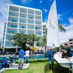 Worita Cove Hotel На Чом Тхиан бассейн
