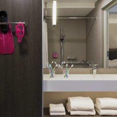 Отель Moxy Vienna Airport Австрия, Швехат - 6 отзывов об отеле, цены и фото номеров - забронировать отель Moxy Vienna Airport онлайн ванная