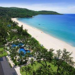 Отель Katathani Phuket Beach Resort пляж