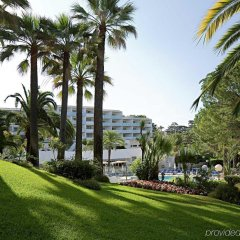 Отель Novotel Cannes Montfleury Франция, Канны - отзывы, цены и фото номеров - забронировать отель Novotel Cannes Montfleury онлайн приотельная территория
