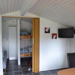 Отель MØrkholt Strand Camping & Cottages Боркоп сауна