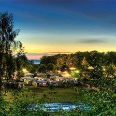 Отель MØrkholt Strand Camping & Cottages Боркоп помещение для мероприятий