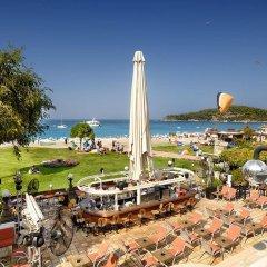 Отель Belcekiz Beach Club - All Inclusive пляж фото 2