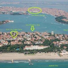 Hotel Villa Delle Palme пляж
