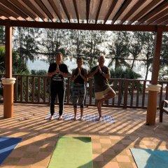 Отель Palm Beach Resort фитнесс-зал