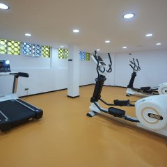 Hotel Abrat фитнесс-зал