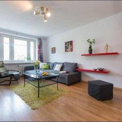 Отель P&O Apartments Emilii Plater Польша, Варшава - отзывы, цены и фото номеров - забронировать отель P&O Apartments Emilii Plater онлайн комната для гостей фото 4